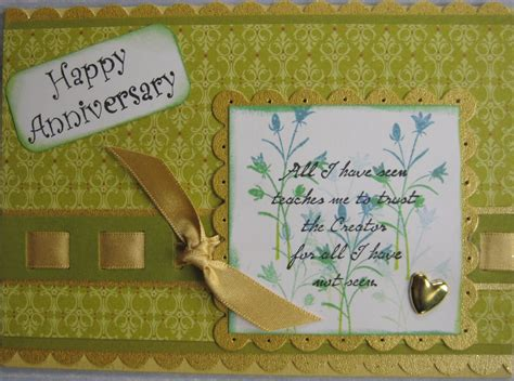 Wedding Anniversary Card by Ideas For Impressive Wedding Anniversary Cards Best