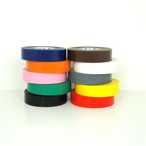 colored electrical colored electrical in different widths by
