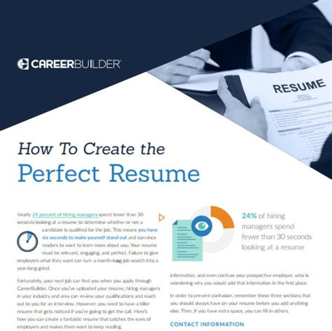 careerbuilder create resume how to make your resume better