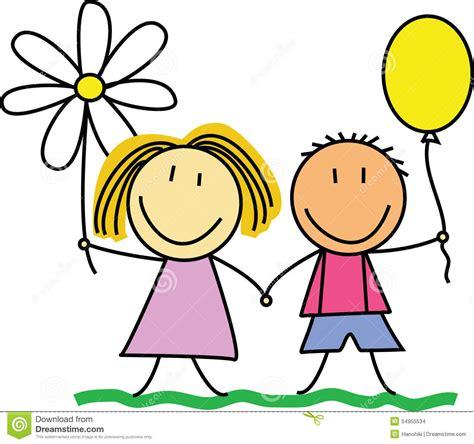 clipart amicizia amici amicizia bambini disegnano illustration