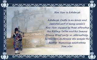 hogmanay new year in edinburgh