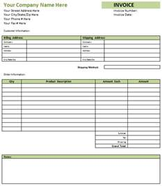 Free Printable Invoices Templates Blank by Blank Invoice Format Printable Invoice Template