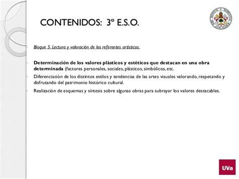 plstica 3 eso catalua 8448936574 contenidos disciplinares educaci 243 n pl 225 stica 3 eso