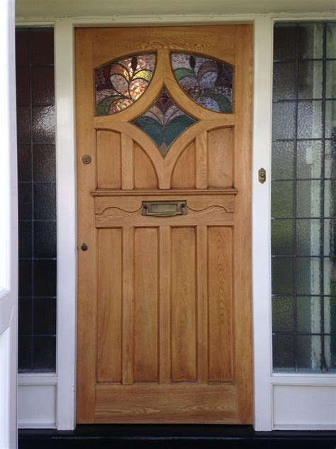 Hardwood Front Doors Furniture Interesting Wooden Front Doors With Glass Abruko