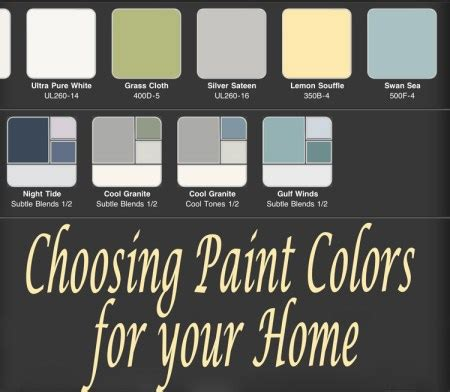 choose paint color choosing paint colors for your house stoneybrooke story