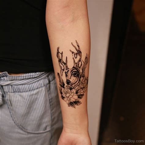 buck tattoos designs deer tattoos designs pictures
