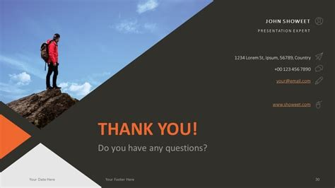 thank you templates for ppt free corporate business powerpoint template