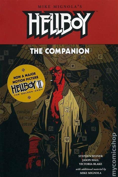 hellboy the companion sc 2008 comic books