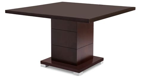 Square Conference Table Ford Executive Modern Conference Table In Walnut Wood Square Zuri Furniture