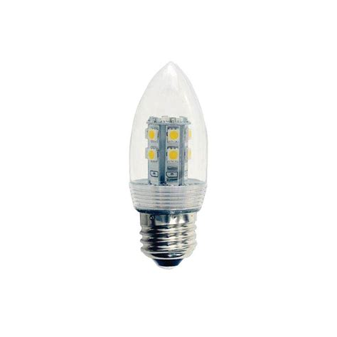120 volt led light illumine 2 5 watt 2 5w 120 volt led light bulb 2 pack
