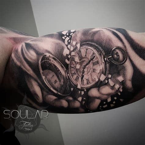 timepiece tattoos matt parkin certified artist