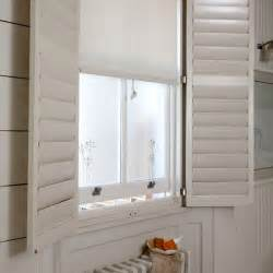 ideas for bathroom windows bathroom shutters bathroom ideas bathroom windows housetohome co uk