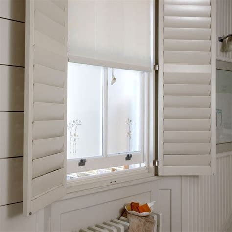 Blinds For Bathroom Windows Uk Bathroom Shutters Bathroom Ideas Bathroom Windows
