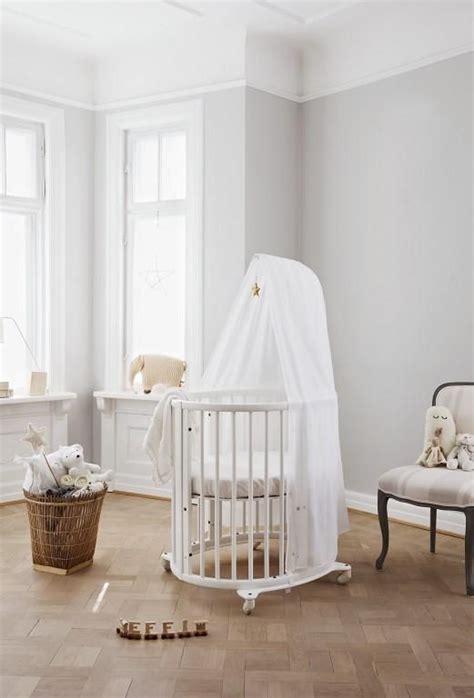 white mini crib beautiful oval shaped scandinavian designed white crib