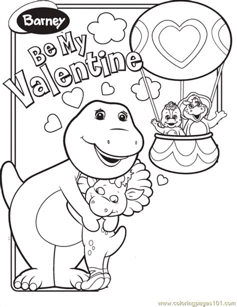 barney birthday coloring page barney and friends coloring pages az coloring pages