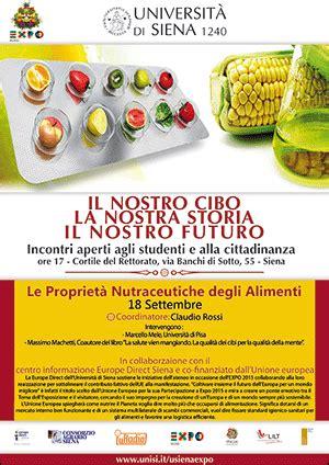 le propriet 224 nutraceutiche degli alimenti evento per expo