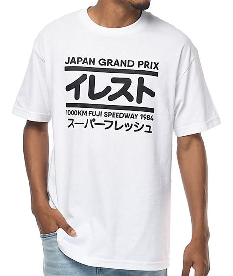 Illest Shirt illest grand prix white t shirt