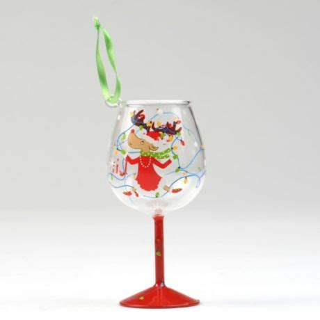 34 best images about wine glass ornaments on pinterest