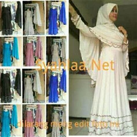Gamis Anak Syari Azhyra No 5 baju muslim trendy gamis syar i
