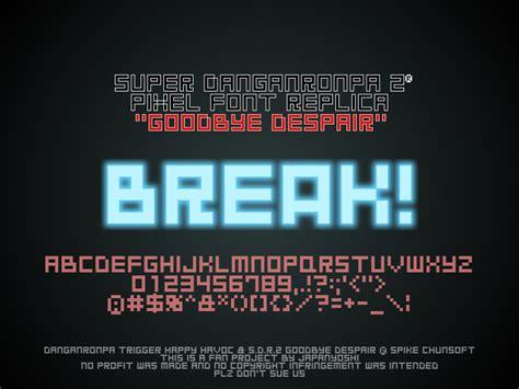 goodbye despair font dafontcom