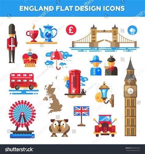 icons of england set vector flat design england travel stock vector 287962073 shutterstock