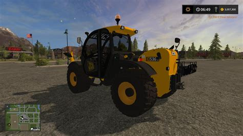 Ls From The 70s by Jcb 536 70 V1 0 Fs17 Farming Simulator 2017 Mod Ls 2017