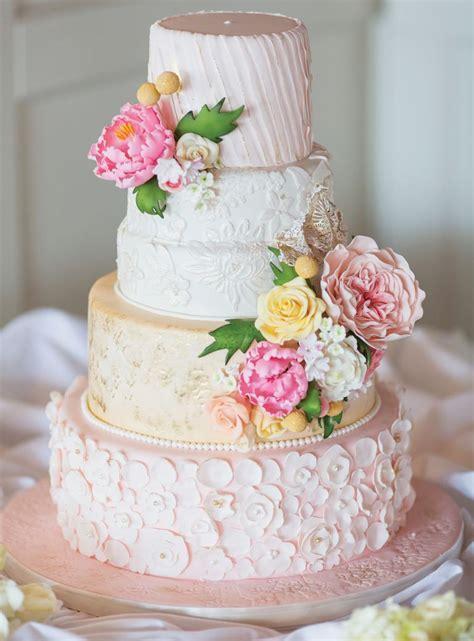 Spring Themed Wedding Cake Ideas
