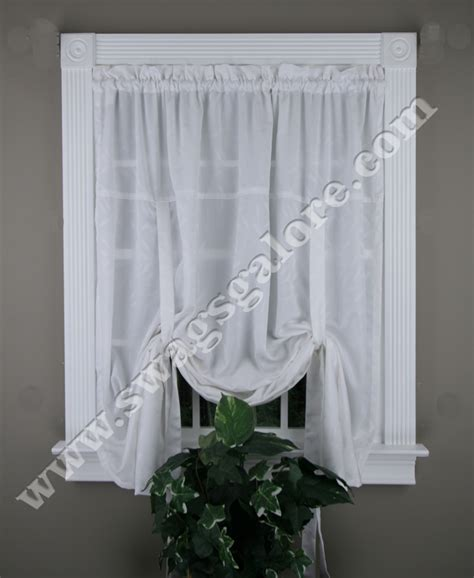 whitfield tie up curtain lorraine kitchen valances