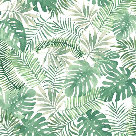Bathroom Wallpaper Ideas Uk Superfresco Easy Mauritius Green Leaves Matt Wallpaper