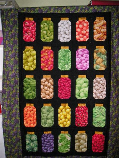 Canning Jar Quilt by Canning Jars Quilt Cool Quilting