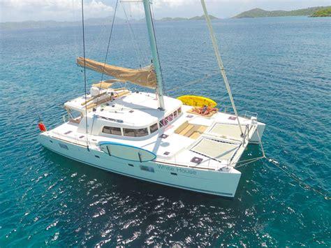 catamaran yacht charter caribbean caribbean catamaran white house charters