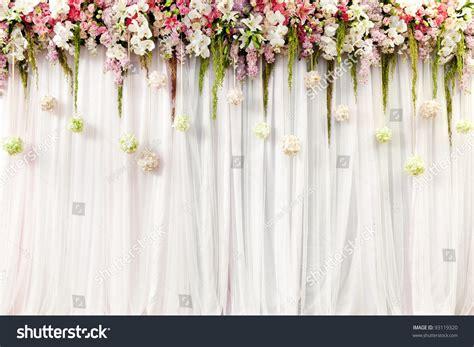 Flower Decor Wedding by Beautiful Flower Wedding Decoration Stock Photo 93119320