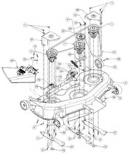 Amazing cub cadet mower deck parts diagram 2 cub cadet mower deck