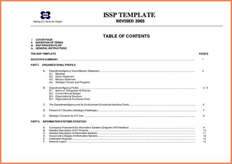 company business profile template