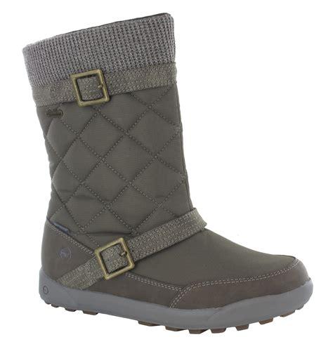 womens waterproof winter boots womens hi tec freemont 200 insulated thermal waterproof