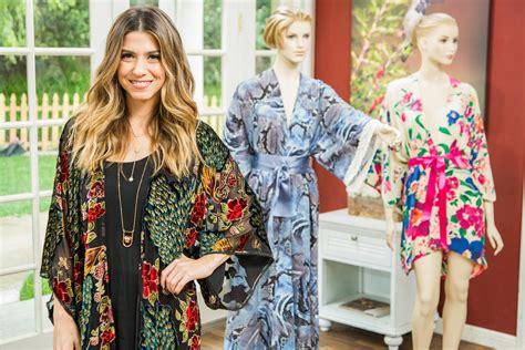 Kimono Channel orly shani s diy kimono robe home family hallmark channel