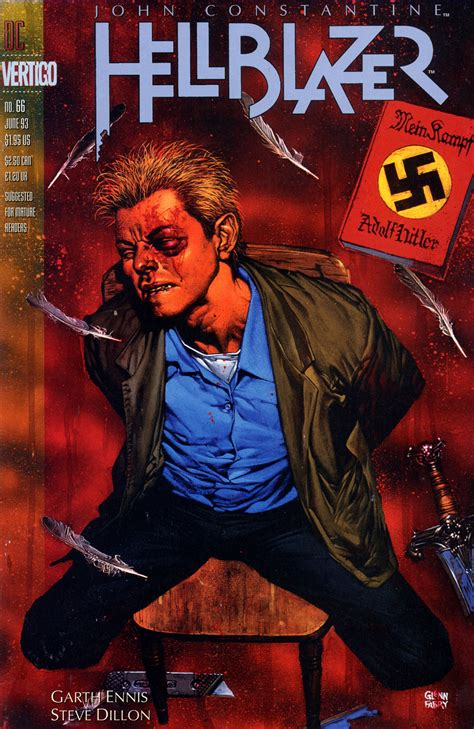 Dc Comics Hellblazer 64 hellblazer 64 66 fear and loathing garth ennis