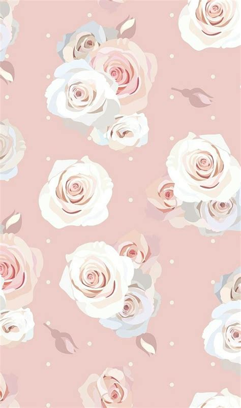 pastel flower pattern wallpaper pattern art background cartoon colorful cute art