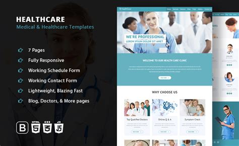 bootstrap templates for hospital elegant healthcare medical hospital responsive bootstrap