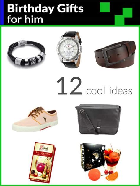 12 cool birthday gifts for him metropolitan girls