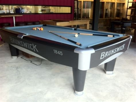 authentic brunswick pool tables for rent central