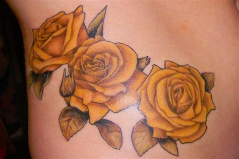 tattoo designs yellow rose 28 best yellow rose tattoos