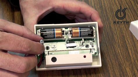reset laptop battery sensor glass break sensor battery replacement youtube