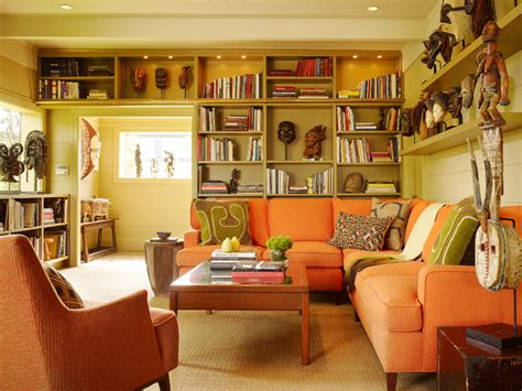 San Francisco Interiors by San Francisco Mid Century Eclectic Living Room San