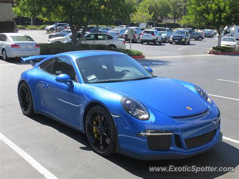 Porsche 911 California by Porsche 911 Gt3 Spotted In City Of Industry California On