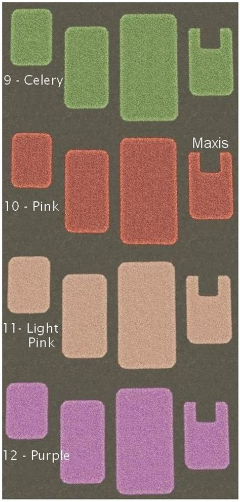 mod the sims bathroommate foot rug recolors 16 colors
