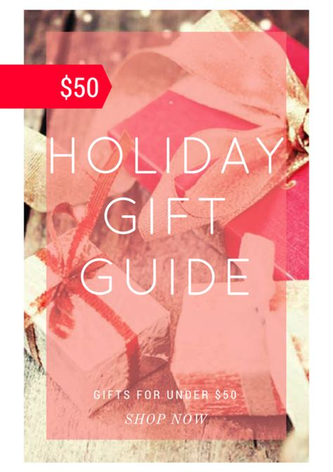 Haute Gift Guide Fashionable For 50 Or Less by Stop Drop Vogue Fashion By Aube