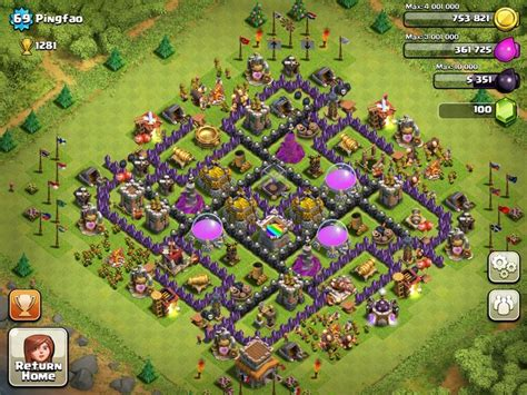 Best Clash Of Clans Town Hall 8 Farming | best town hall 8 defense thread best town hall 8