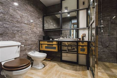 51 industrial style bathrooms plus ideas amp accessories you