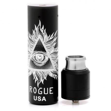 Rogue Usa Mech Mod 1 rogue usa style 18650 black mechanical mod kit w
